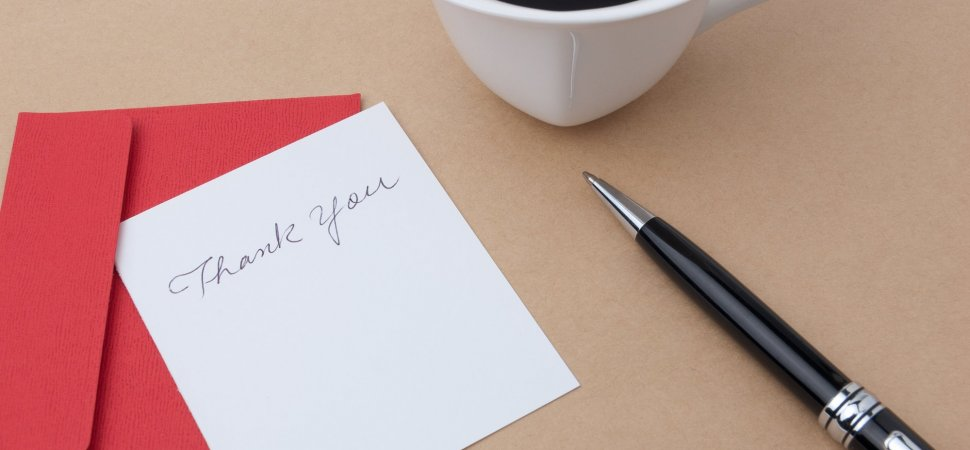 Here\u0027s When Your Thank-You Notes Really Are Most Powerful Inc