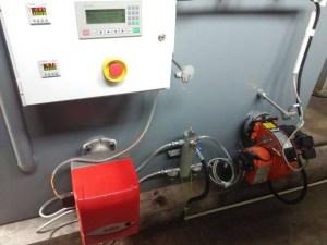 Incinerator Burner oil system