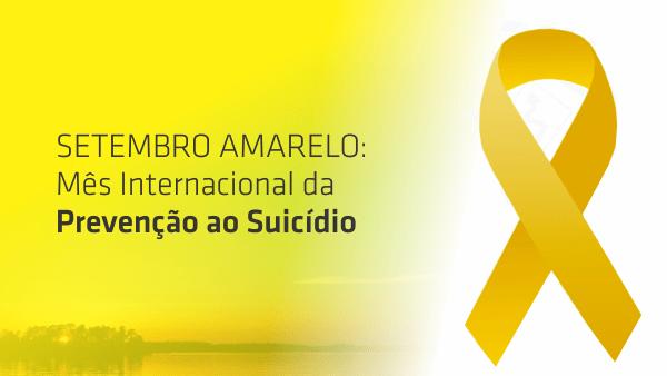 Mês da campanha de prevenção do suicídio