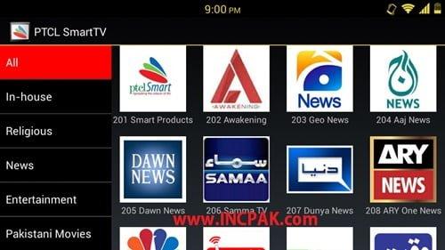 Watch PTCL Smart TV