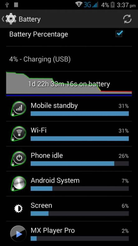 Innjoo one battery 2