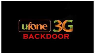 ufone backdoor
