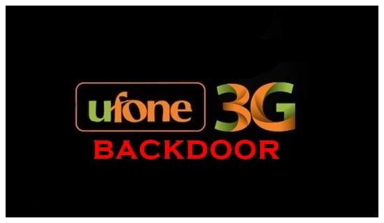 ufone backdoor
