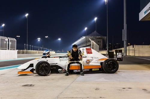 Saad Ali - The Only Certified Pakistani Formula 1 Racer And Winner, Age 18 Years