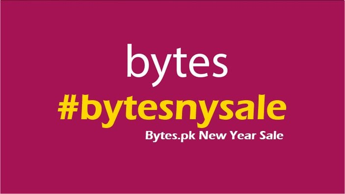 Bytes.pk announces it's New Year Sale