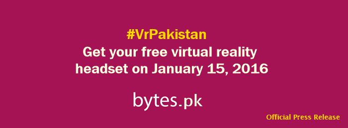 Bytes.pk #Vrpakistan cover