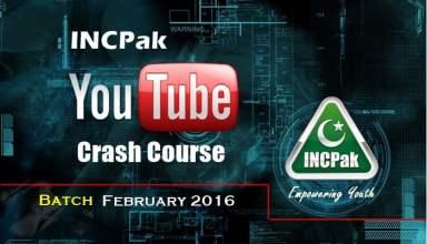 INCPak Crash Course Febuary 2016 batch1