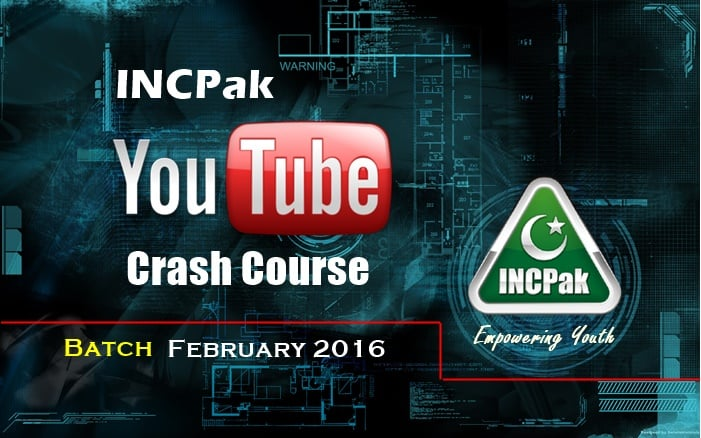 INCPak Crash Course Febuary 2016 batch1