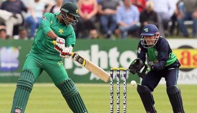 Pakistan vs Ireland 1st ODI 2016