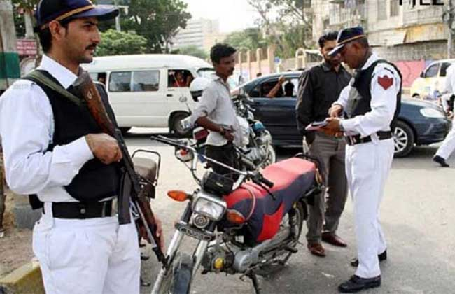 Karachi E Ticket System Excise Police Active These Days