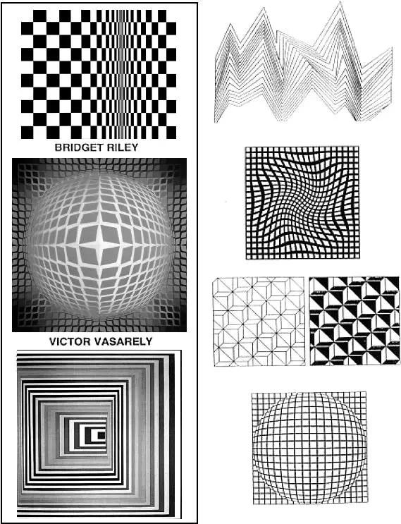 Examples of Op Art by Op Artists Op Art Pinterest Lesson - kindergarten lesson plan