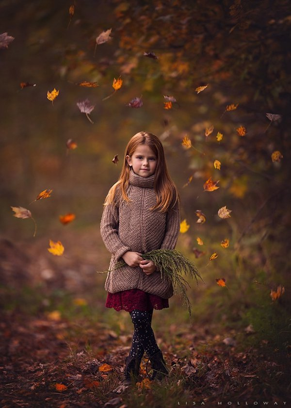 Fall Leaves Fox Wallpaper Beautiful Children Photos By Lisa Holloway Incredible Snaps
