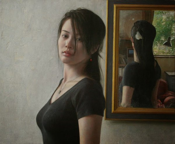 Beautiful Chinese Girl Painting Wallpaper Awesome Portrait Paintings By Osamu Obi Incredible Snaps