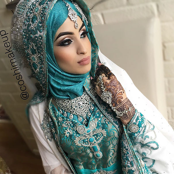 Girls Day Wallpaper 2017 Gorgeous Brides Wearing Hijabs On Their Wedding Day Look