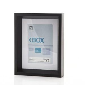 Marco prefabricado KoFrames BOX.  Disponible en color Blanco, Negro y Marrón; Tamaño 4x6, 6x8, 8x10.