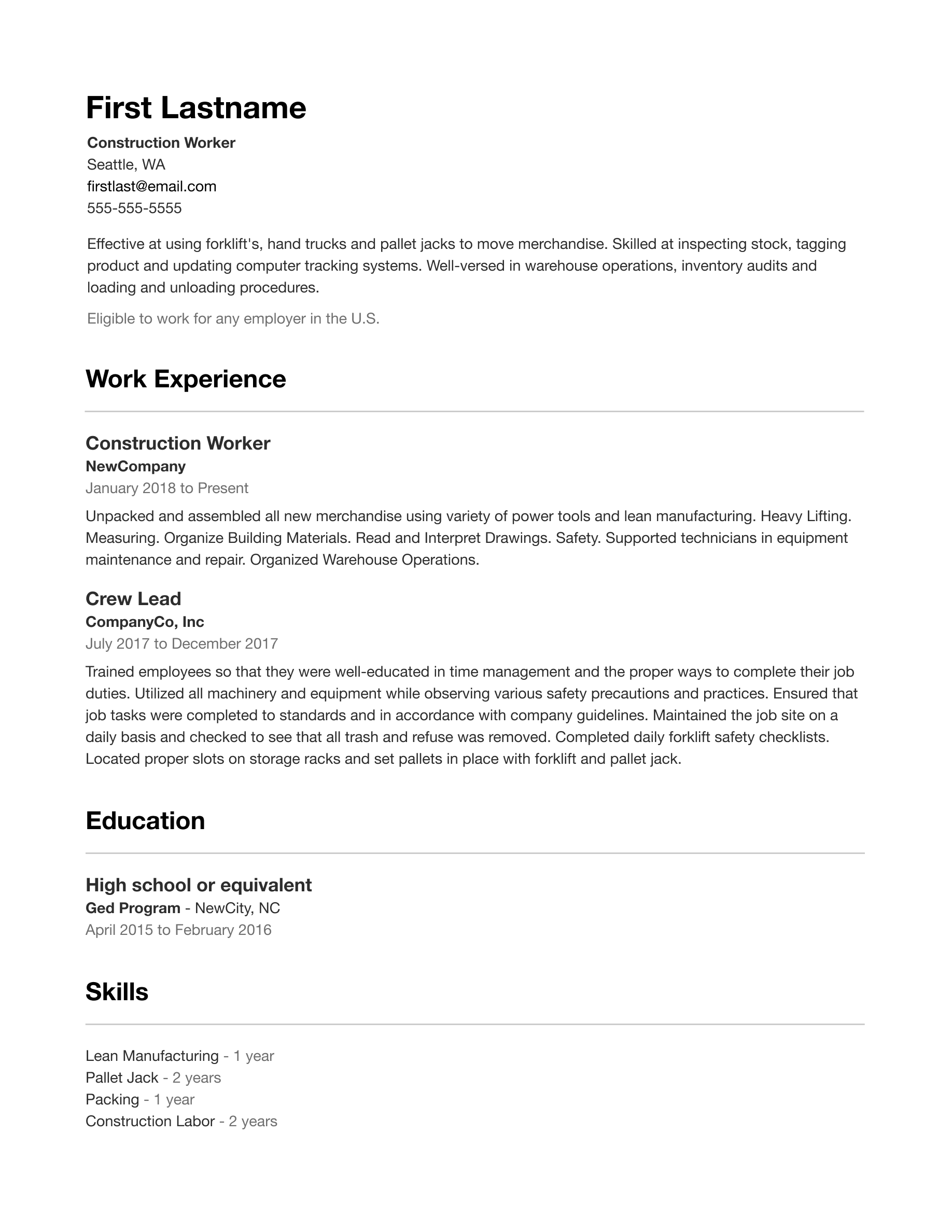 indeed.com resume templates