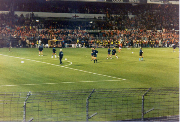 Nederland-Engeland (1993): Warming-up