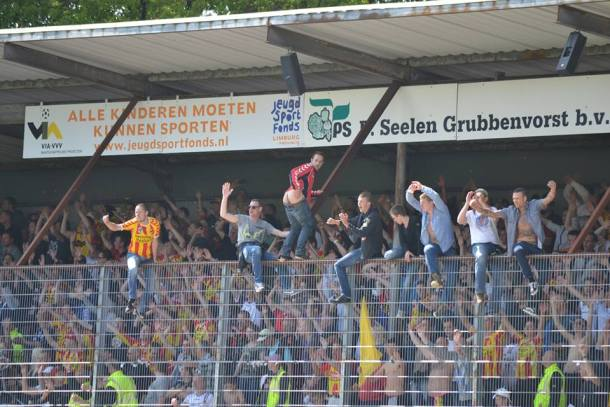 Go Ahead Eagles in de hekken Venlo