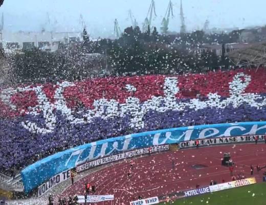 100 jaar Hajduk: in het stadion