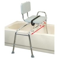 Sliding Transfer Bench with Swivel Seat at IndeMedical.com