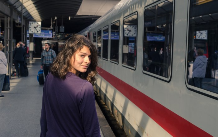 InterRail Train Itinerary