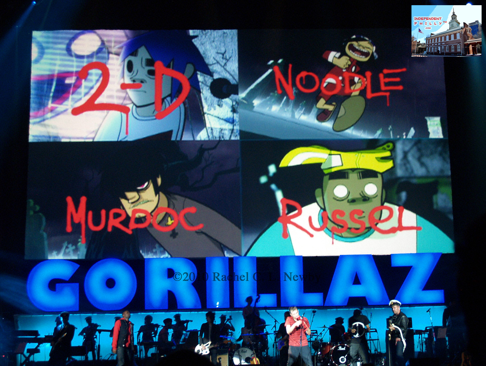 The Gorillaz Band Members Pictures Www Imgkid Com The