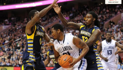 NCAABB  2012 - Jan 28 - Marquette at Villanova