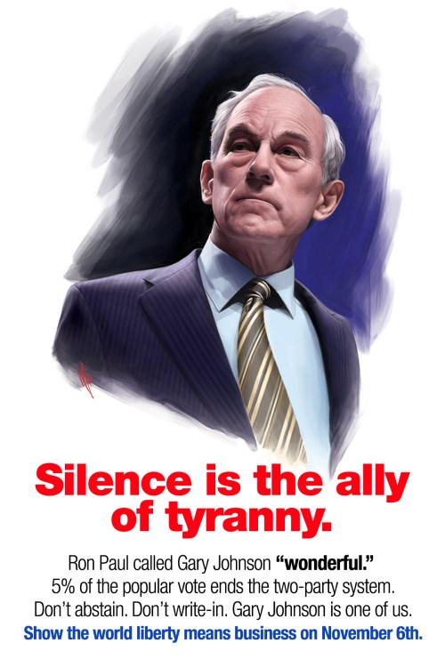 Silence is the Ally of Tyranny