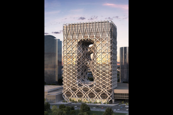 City Of Dreams Hotel Tower By Zaha Hadid Indesignlive