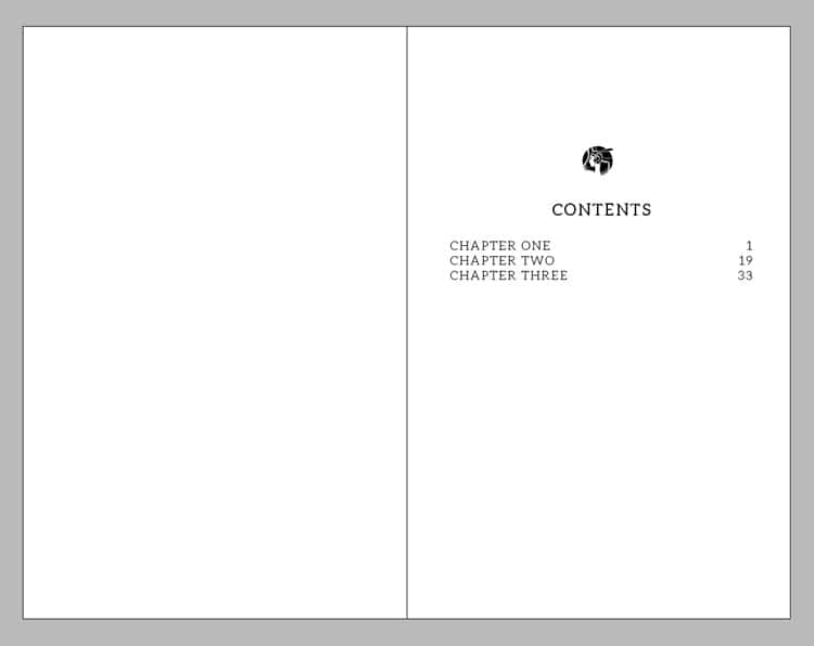 InDesign Walkthrough How to Create a Table of Contents
