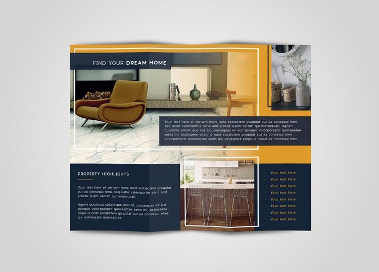 Tri Fold Brochure Template Indesign Free Download Tri Fold Tri Fold - trifold indesign template