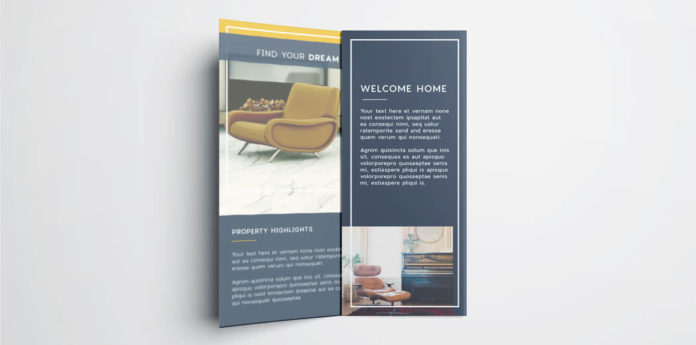 Tri Fold Brochure Free InDesign Template - free indesign template
