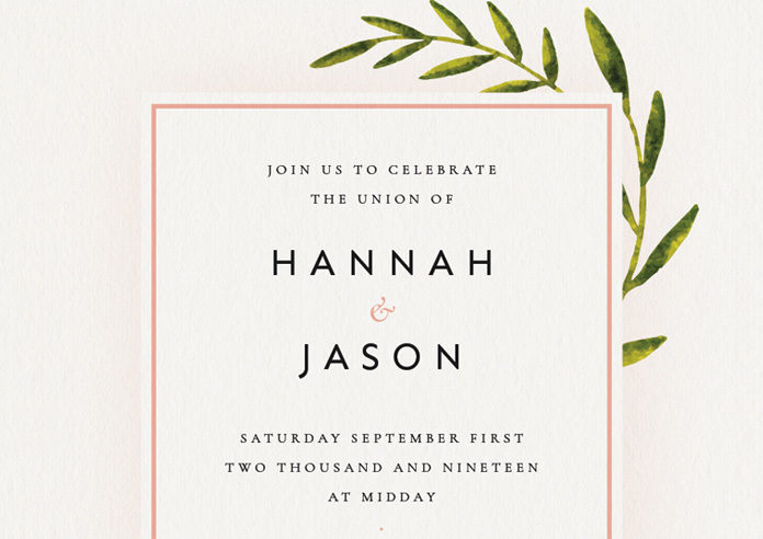 How to Create a Wedding Invitation in InDesign (Free Template Included)