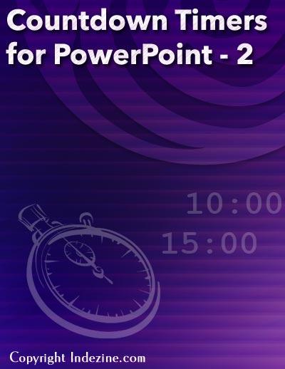 powerpoint timer slide