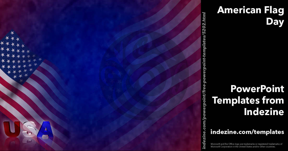 American Flag Day 01 - PowerPoint Templates