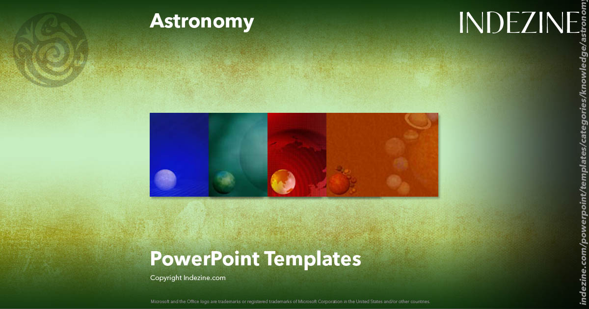Astronomy PowerPoint Templates