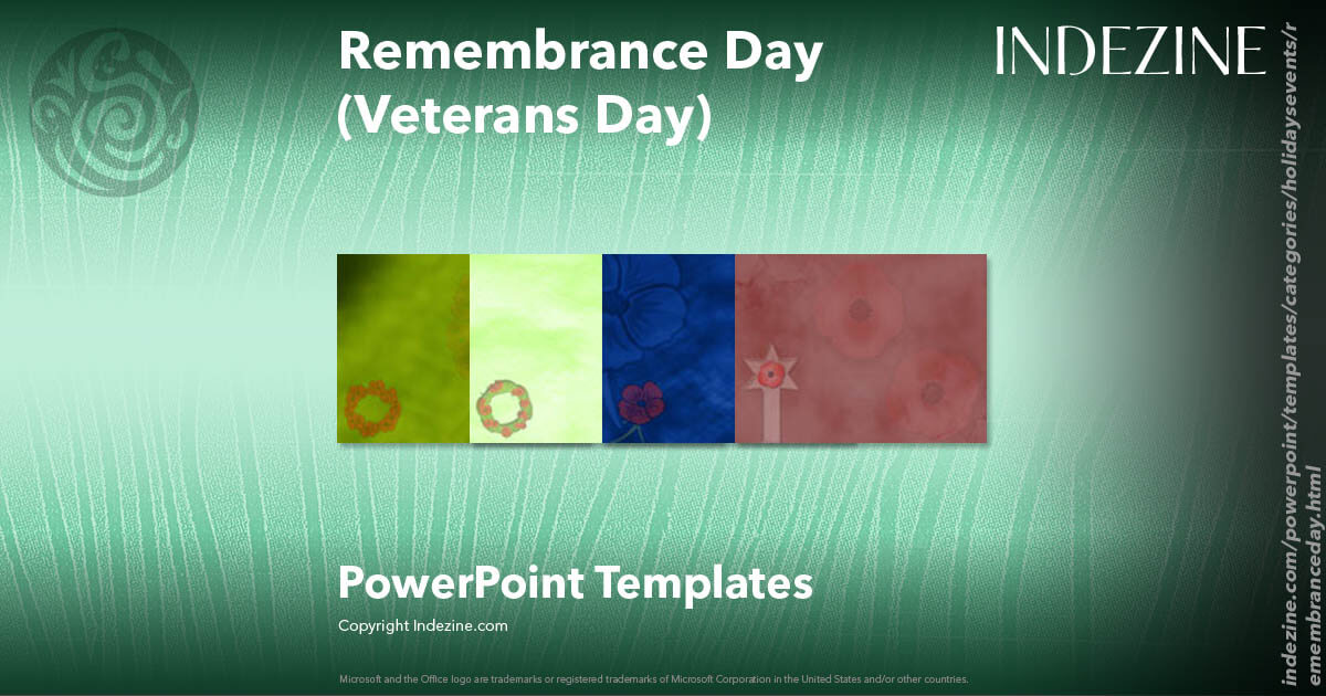 Remembrance Day (Veterans Day) PowerPoint Templates