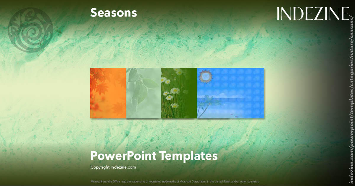Seasons PowerPoint Templates