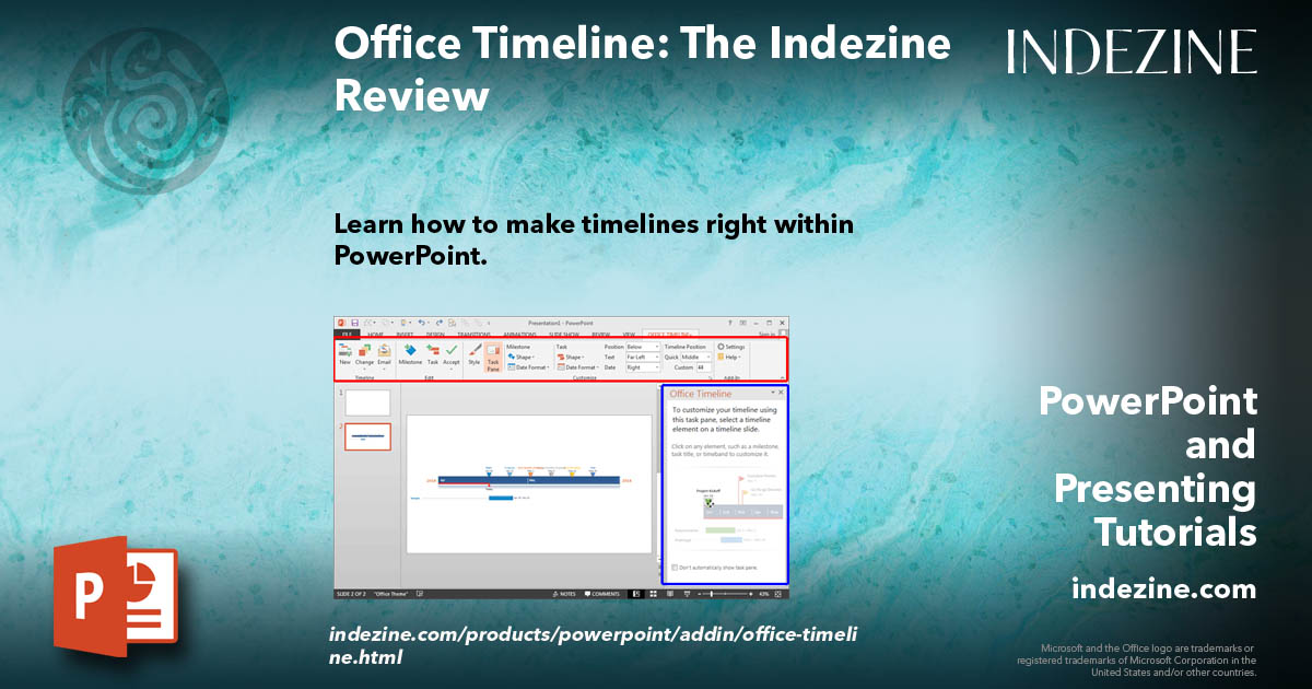 Office Timeline The Indezine Review