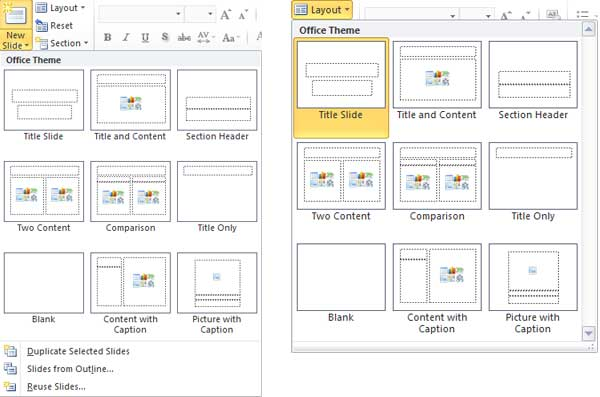 Duplicate, Rename, and Edit Slide Layouts in PowerPoint 2010 for Windows