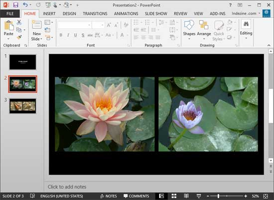 Create Photo Album in PowerPoint 2013 Windows PowerPoint Tutorials - create power point