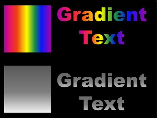 Gradient Fill for Text in PowerPoint 2010 PowerPoint Tutorials - rainbow powerpoint