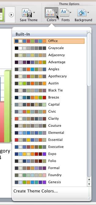 create powerpoint theme