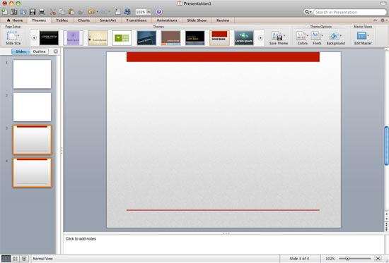 Applying Themes in PowerPoint, Word, and Excel 2011 for Mac - ion powerpoint theme