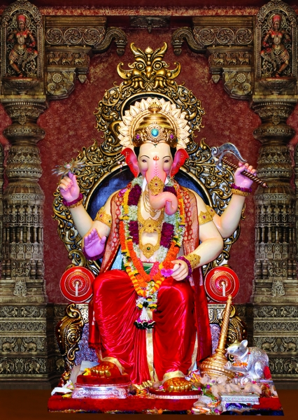 Ganpati Bappa Wallpaper Hd 3d View The Magnificent Lalbaugcha Raja In Pictures From 1934