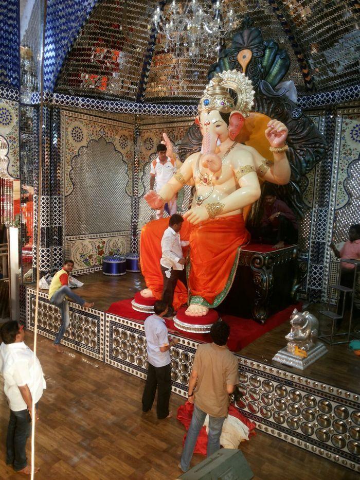 Lalbaugcha Raja Hd Wallpaper Ganesh Festival Lalbaugcha Raja 2015 First Look Pictures