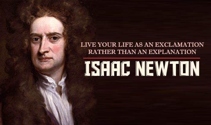 Fall Brithday Wallpaper Isaac Newton S 374th Birth Anniversary Top 11 Quotes By