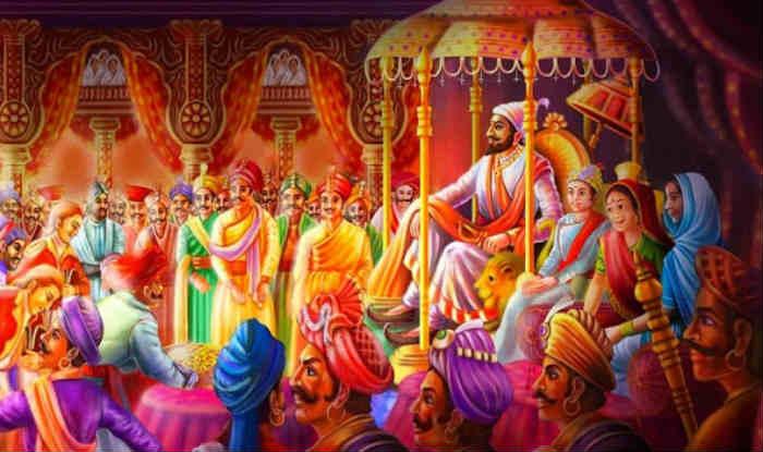 Shivaji Maharaj Full Hd Wallpaper Chatrapati Shivaji Maharaj Real Coronation Ceremony असा