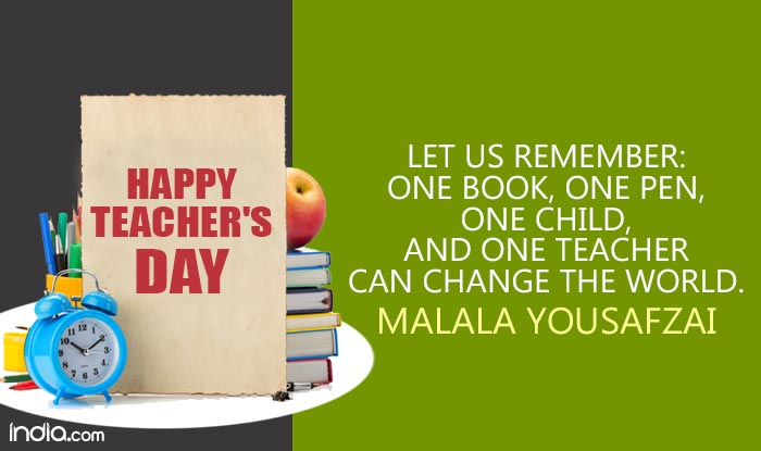 Teachers\u0027 Day Quotes in English 11 Best Famous  Inspirational