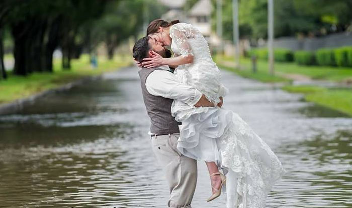 Hurricane Harvey Ruined Their Wedding Plans But This Couple Found A - wedding plans